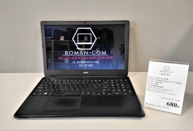 "Laptop Acer E1(15.6""/ Intel Pentium/ Intel HD/ 4GB/ 500GB HDD)"