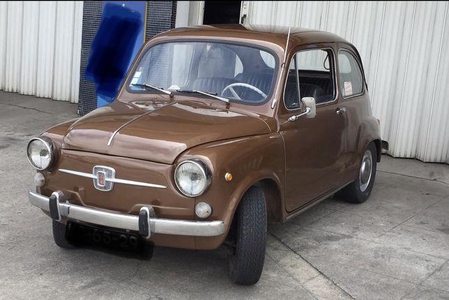 Vendo Fiat 600D estado original com seguro e revisao feita