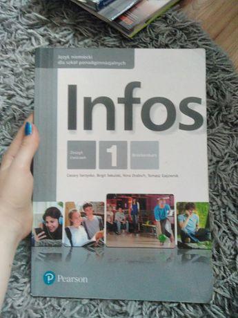 Zeszyt ćwiczeń Infons 1 do języka Niemieckiego