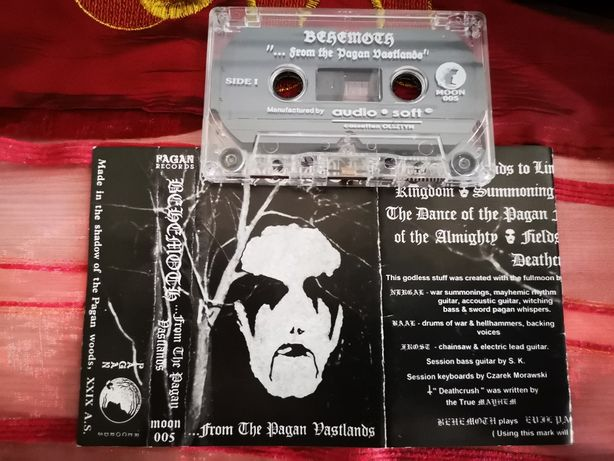 BEHEMOTH From The Pagan Vastlands 1994 MC