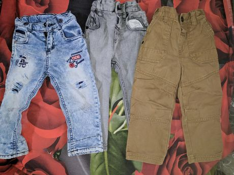 Фирменные джинсы на рост 92 см