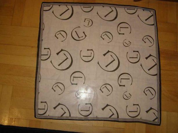 Черно-белый шифоновый платок leonor greyl