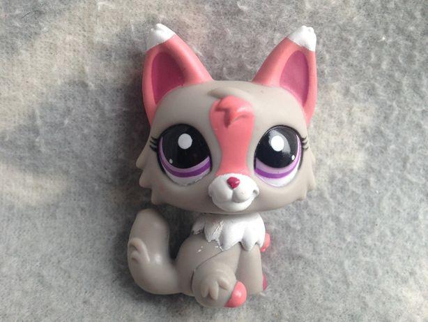 Figurka Littlest Pet Shop LPS Szary Lisek