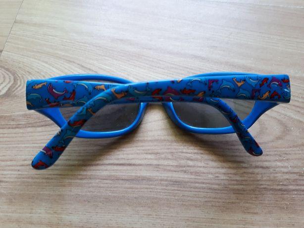 okulary przeciwsłoneczne dziecięce 5-6 lat