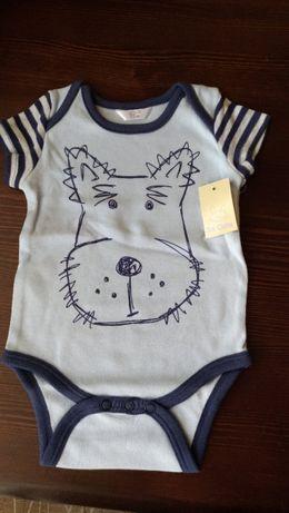 NOWE body niemowlęce dla chłopca, rozm 62,wysyłka 1zł