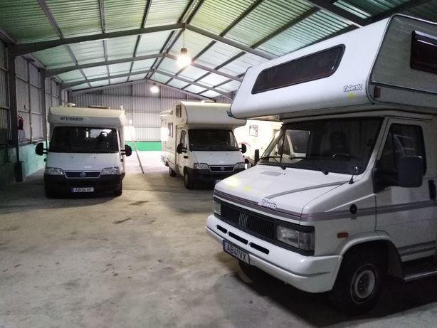 Recolha e oficina para autocaravanas
