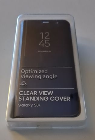 Etui Samsung Galaxy S8+ clear view standing cover