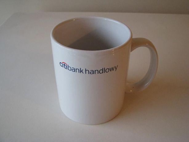 Kubek porcelanowy z napisem Citi Bank Handlowy