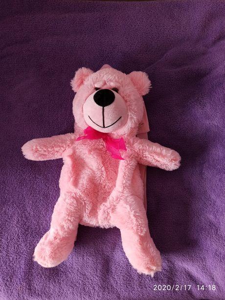 Рюкзак-игрушка Розовый мишка