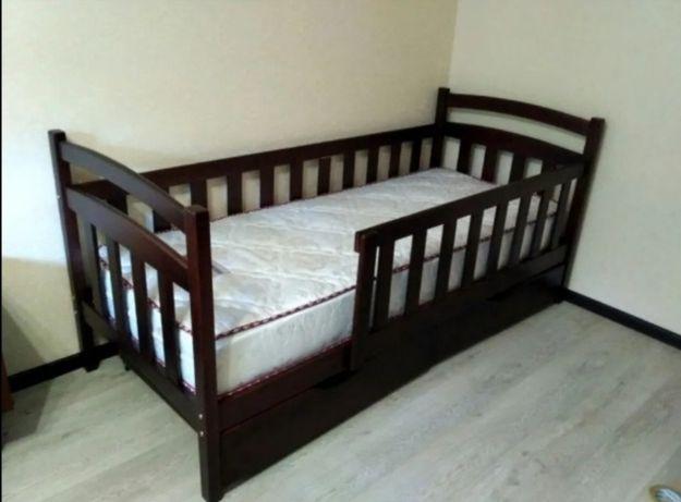 Купити дитяче підліткове ліжко з дерева, купить детскую кроватку
