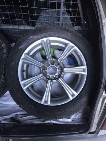 Продам диски Wolfrace R17 с резиной 225/55