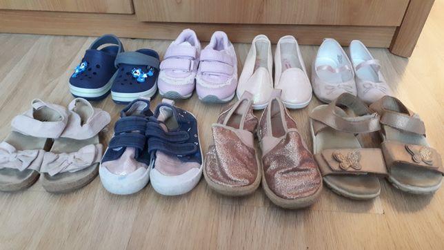 Buty dziewczynka 10 par