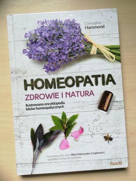 Książka nowa Homeopatia Zdrowie i Natura