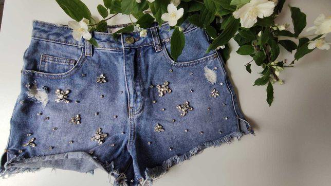 Шорты джинсовые Amisu, 34 размер