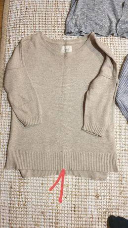 Sweter damski zara h&m carry