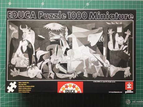 Puzzle Guernica de Pablo Picasso 1000 peças