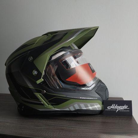 Шлем MT Synchrony Duo Sport Tourer Green Black.