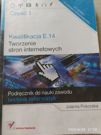 Tworzenie stron internetowych kwalifikacja E.14