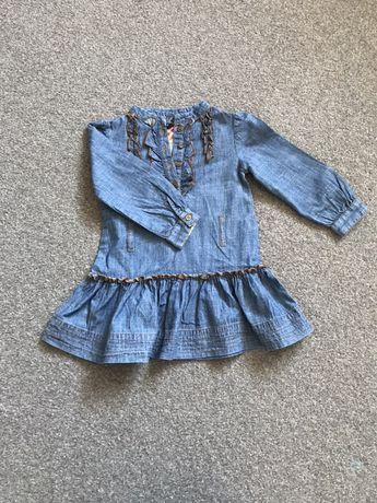 R 98 ZARA sukienka na długi rękaw