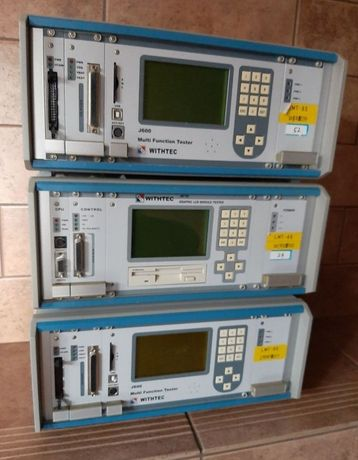 Testery graficzne LCD WITHTEC komplet