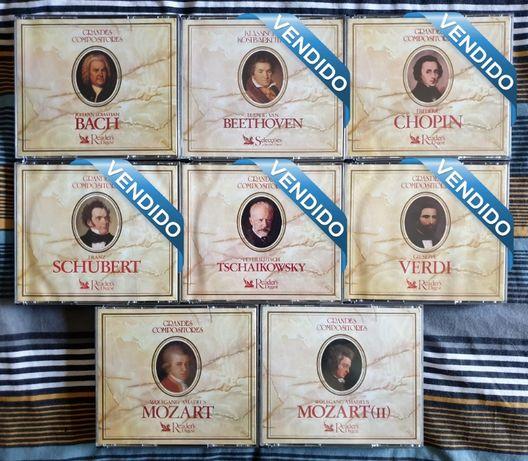 ÚLTIMOS 3 CD's Grandes Compositores Clássica Selecções Readers Digest