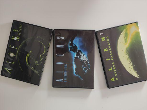 Trilogia Alien DVD
