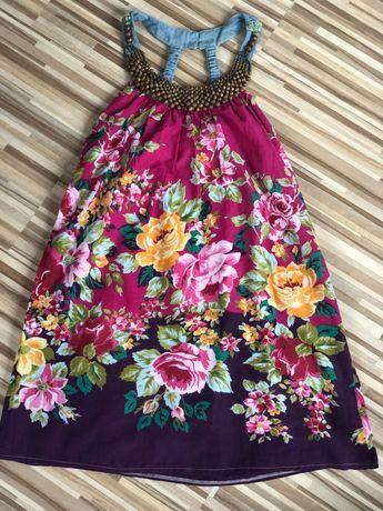 Sukienka w kwiaty rozmiar S/M