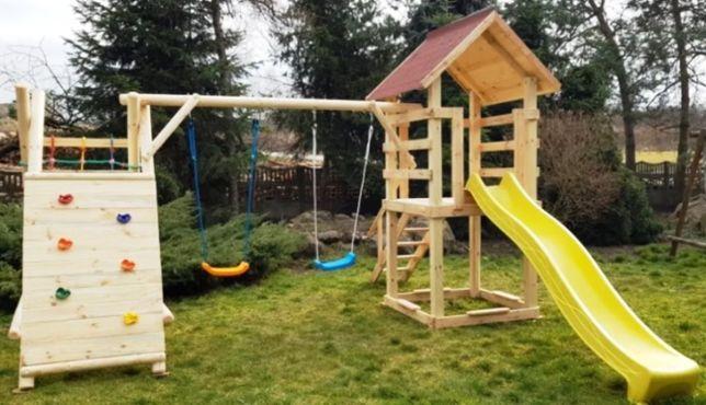 Игровой комплекс Детская площадка Качели Горка Стенка Песочница