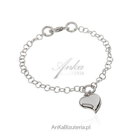 ankabizuteria.pl naszyjnik srebrna celebrytka z koralikami i krzyżykie