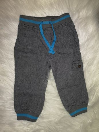 Spodnie chłopiec ściągacz 80