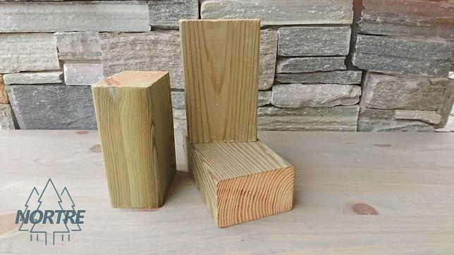 Drewno konstrukcyjne C24,kantówka 45x45mm impregnat,Skandynawska.