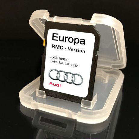 Audi GPS cartao , original RMC - A1-A6-A7-Q3