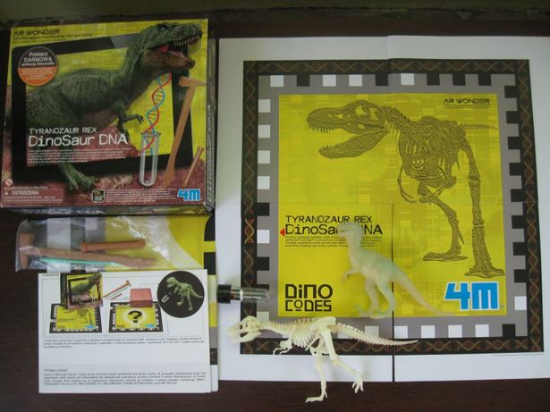 Dinozaur Dna Tyranozaur Rex Wykopaliska