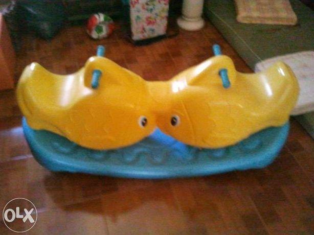 Balancé em forma de peixe