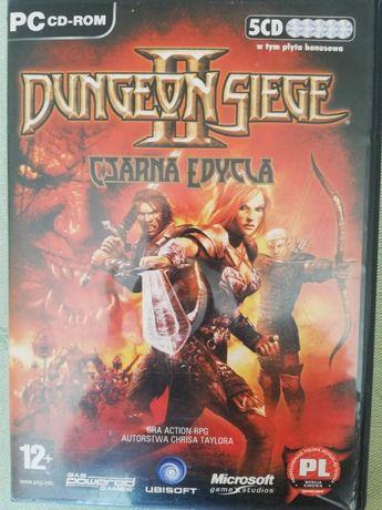 Kolekcjonerskie DUNGEON SIEGE II 2 Czarna Edycja 5CD wer.kinowa.pl