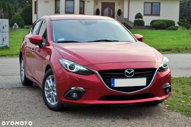 Mazda 3 SKYENERGY, 2.0 benzyna, POLSKI SALON, Nawigacja, XENONY, Soul Red