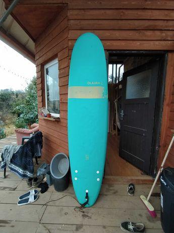 Prancha de surf 8' decathlon beginners surfboard