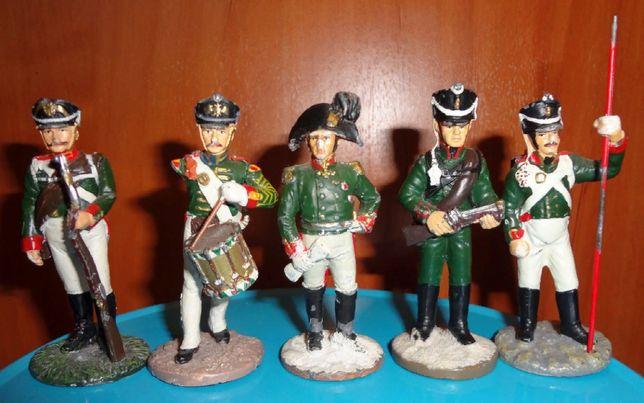 Оловянные солдатики.Наполеовские воины.