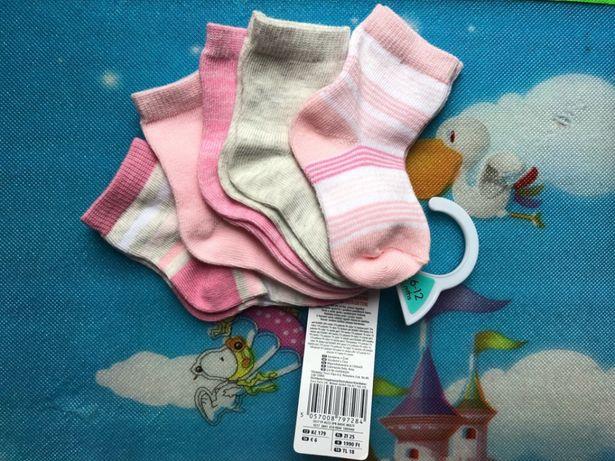 Skarpetki nowe 6-12 miesięcy dziewczynki 68 74 Nowe