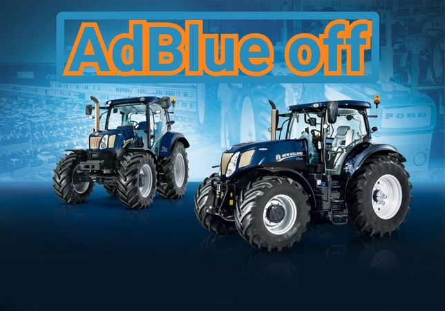 Naprawa  AdBlue Usuwanie JCB Claas Case NewHolland John Deere Deutz