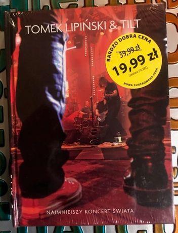 Tomek Lipiński & TILT - najmniejszy koncert na DVD, NOWA