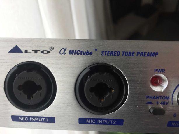 Alto - Stereo Tube preamp a Válvulas