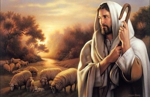 Схема вишивки Пастир