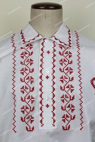 Camisa Bordada a Ponto Cruz - Genuínas