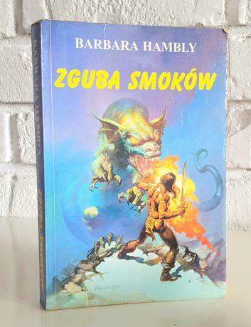 Książka Zguba smoków autorstwa Hambly Barbara fantasy