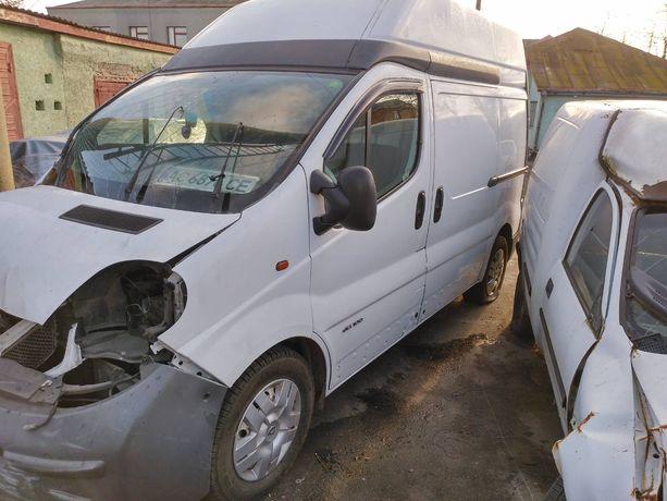 Renault Trafic 100 після ДТП