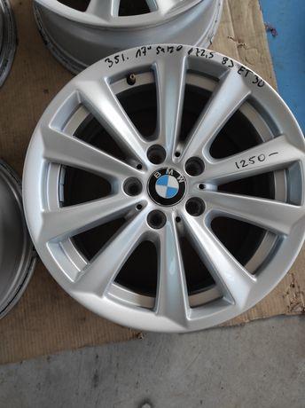 351 Felgi aluminiowe ORYGINAŁ BMW R 17 5x120 otwór 72,5  Ładne