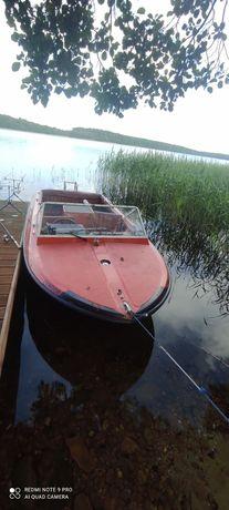 Łódka rekreacyjna wędkarska Zamiana