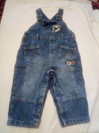 джинсовый комбез, комбинезон на ребёнка(рост-86)-60грн