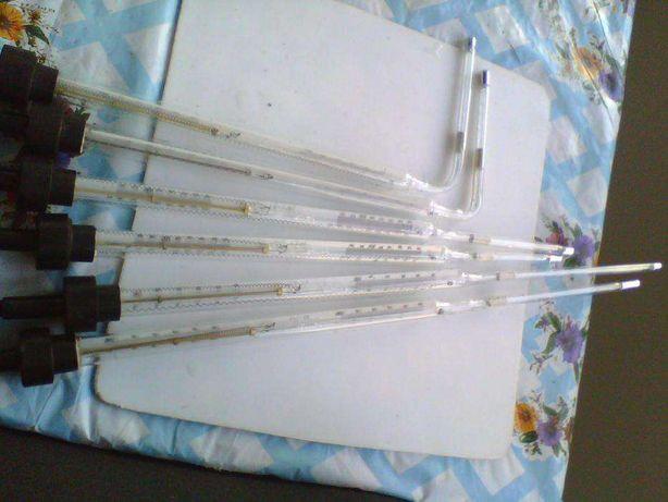 Термометры стеклянные ртутные электроконтактные
